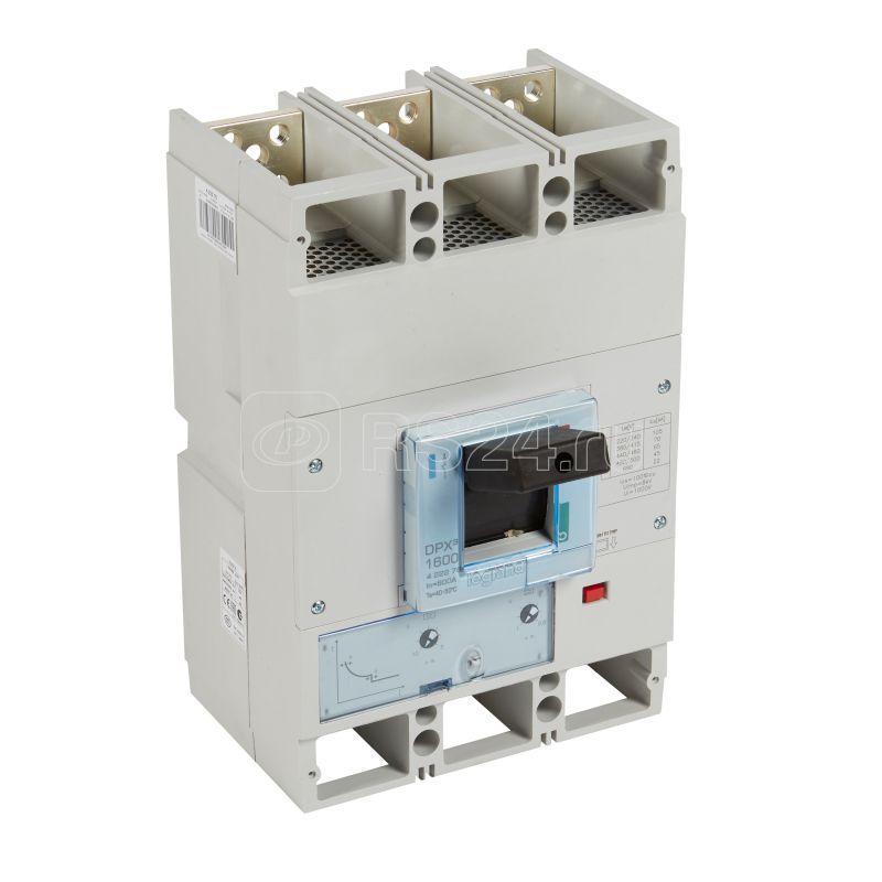 Выключатель автоматический 3п 800А 70кА DPX3 1600 термомагнитн. расцеп. Leg 422276 купить в интернет-магазине RS24