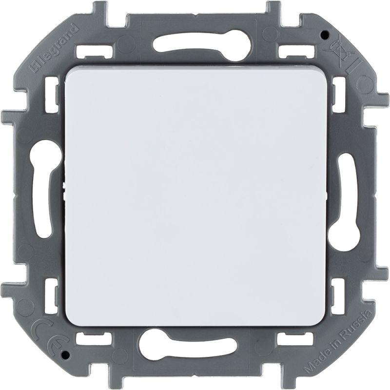 Выключатель 1-кл. Inspiria 250В 10AX бел. Leg 673600