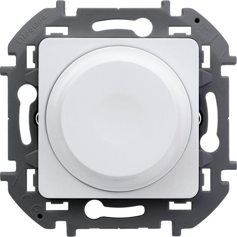 Механизм светорегулятора поворотного Inspiria 300Вт без нейтрали бел. Leg 673790 купить в интернет-магазине RS24
