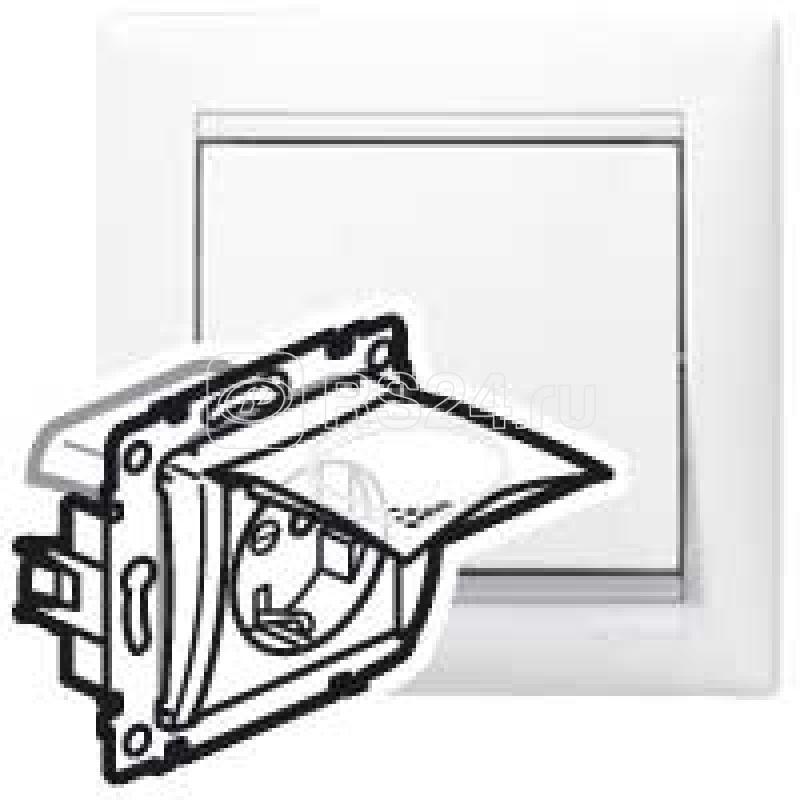 Механизм розетки 1-м СП Valena 2К+З IP44 с заземл. бел. (DIY-упак.) Leg 695641 купить в интернет-магазине RS24