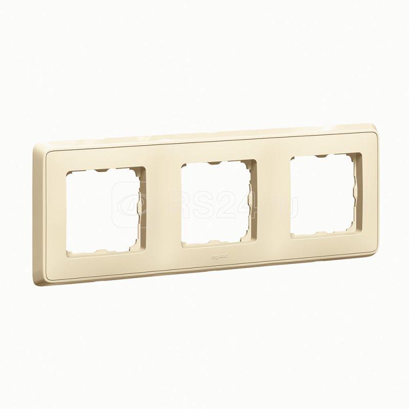 Рамка 3-м Cariva сл. кость (DIY-упак.) Leg 695981 купить в интернет-магазине RS24