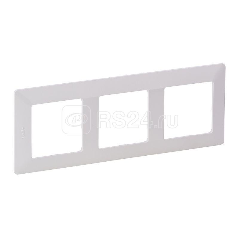 Рамка 3-м Valena Life универсальная бел. Leg 754003