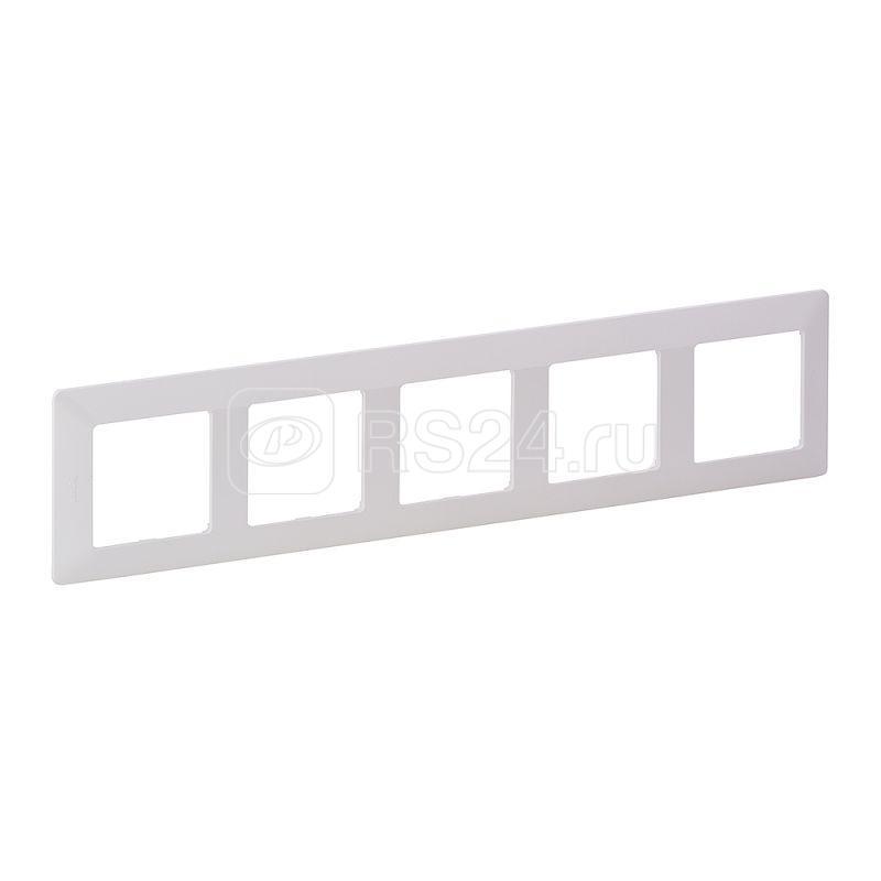 Рамка 5-м Valena Life универсальная бел. Leg 754005