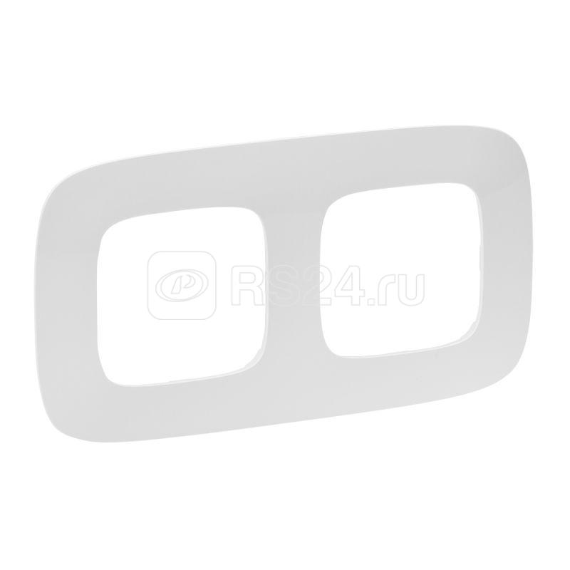 Рамка 2-м Valena Allure универсальная бел. Leg 754302