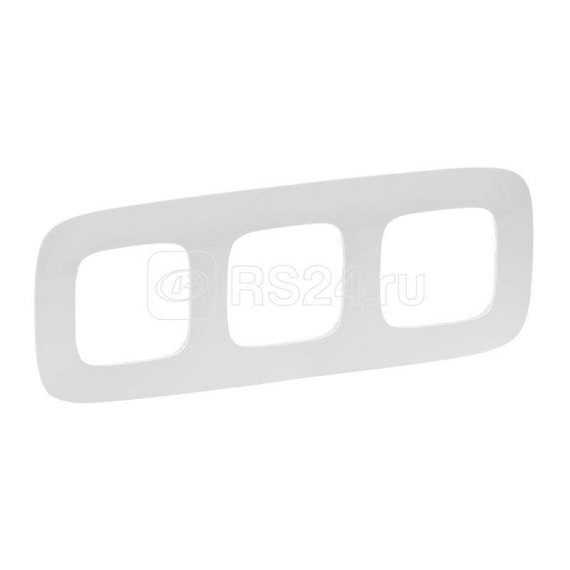 Рамка 3-м Valena Allure универсальная жемчуг Leg 754413 купить в интернет-магазине RS24