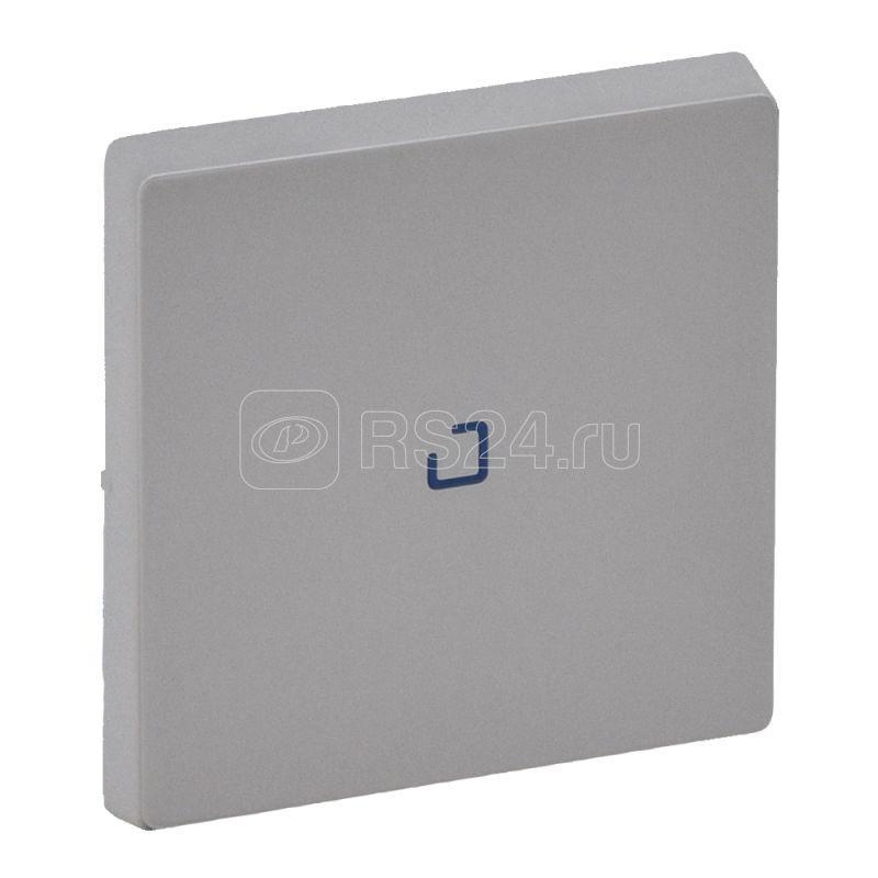 Панель лицевая Valena Life для 1-кл. выкл. с подсветкой/индикацией алюм. Leg 755102 купить в интернет-магазине RS24
