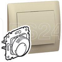 Термостат СП для теплого пола GaleА Life 16А титан Leg 775690 купить в интернет-магазине RS24