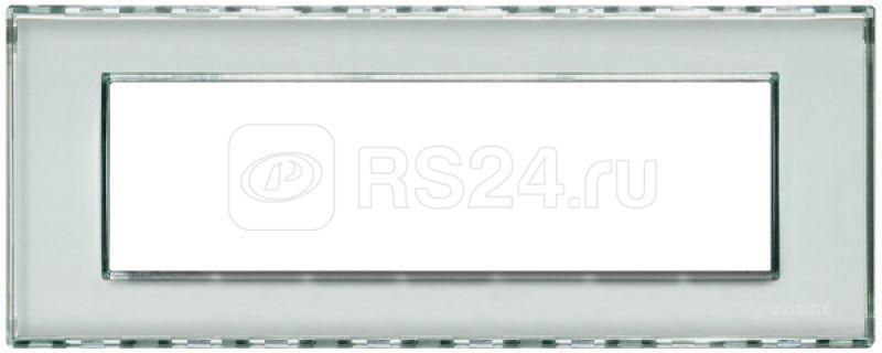 Рамка 7мод. LivingLight прямоугол. Kristall Leg BTC LND4807KR купить в интернет-магазине RS24