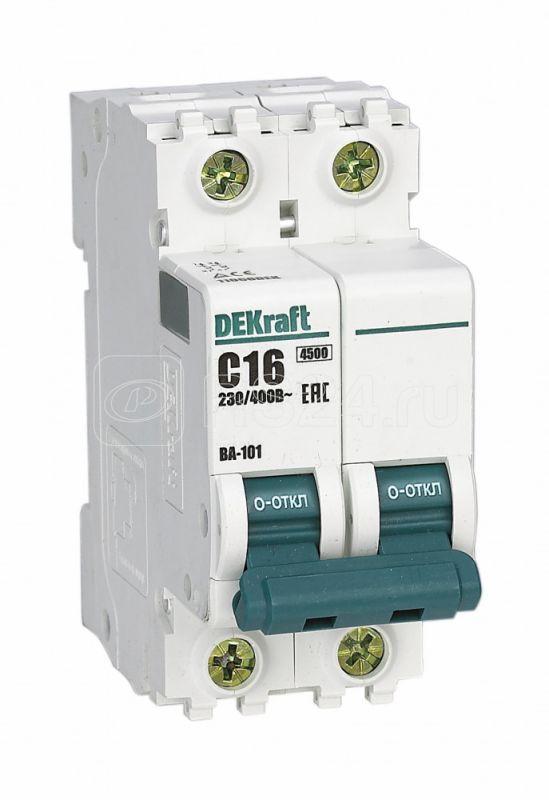 Выключатель автоматический модульный 2п D 25А 4.5кА ВА-101 SchE 11116DEK купить в интернет-магазине RS24
