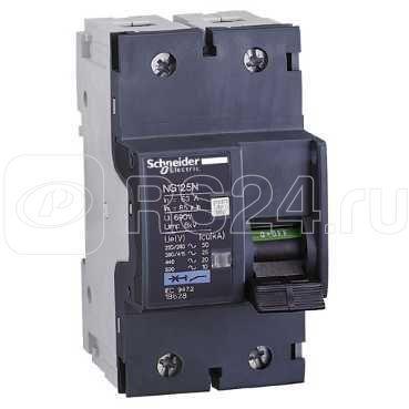 Выключатель автоматический модульный 2п C 50А 50кА NG125N SchE 18627 купить в интернет-магазине RS24