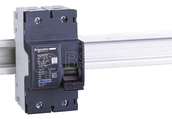Выключатель автоматический модульный 2п C 40А 9кА NG125H SchE 18719 купить в интернет-магазине RS24
