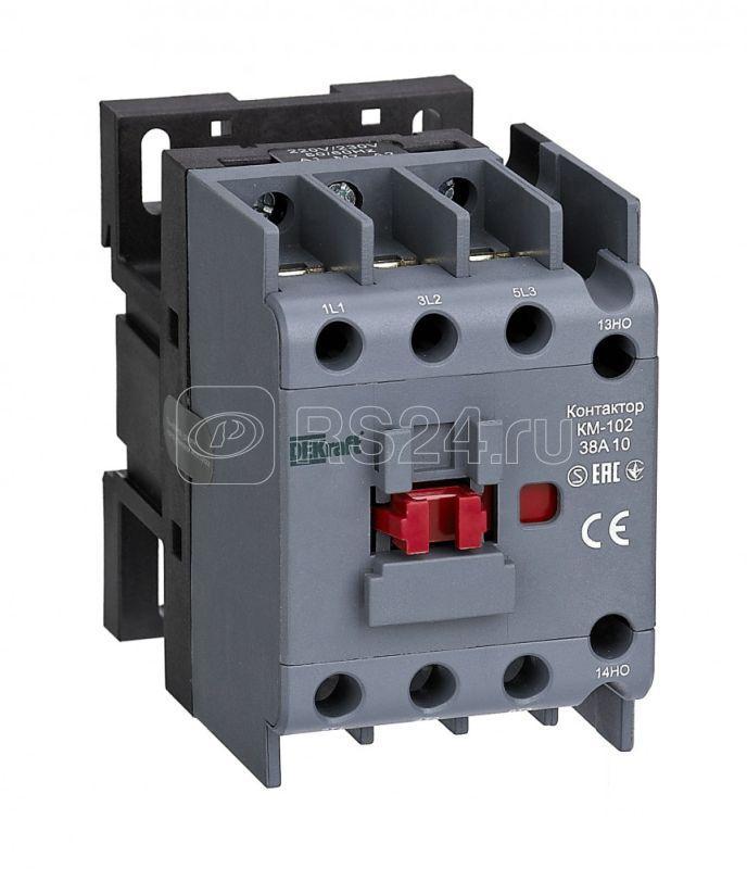 Контактор КМ-102 38А 36В AC3 AC4 1НЗ SchE 22308DEK купить в интернет-магазине RS24