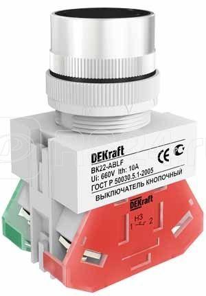 Кнопка ABLF-22 черн. ВК-22 SchE 25012DEK купить в интернет-магазине RS24