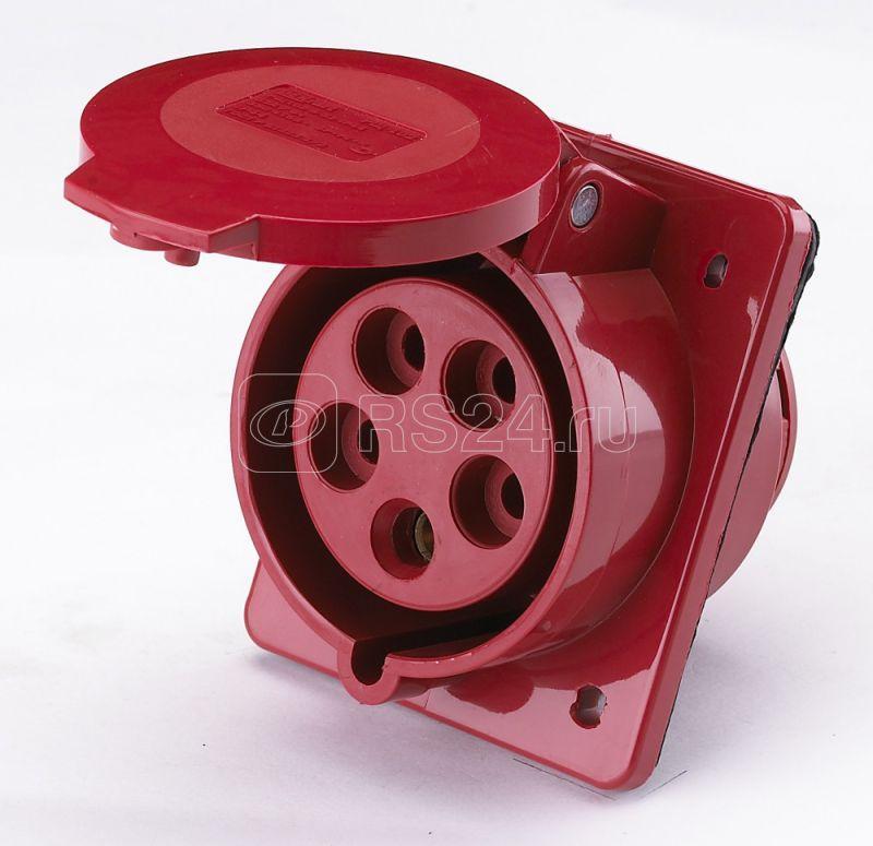 Розетка ОП 32А 380В 3P+E+N тип. роз. 125 IP44 SchE 26033DEK купить в интернет-магазине RS24