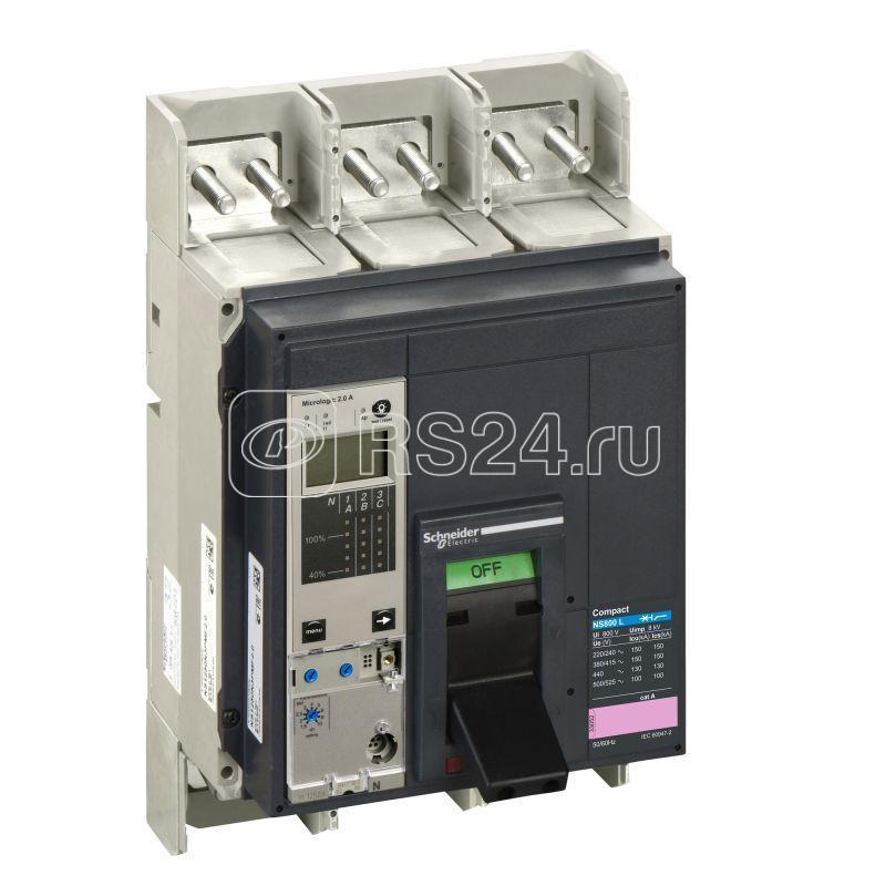Выключатель NS800 L 3P + Micrologic 5.0А в сборе SchE 33517 купить в интернет-магазине RS24