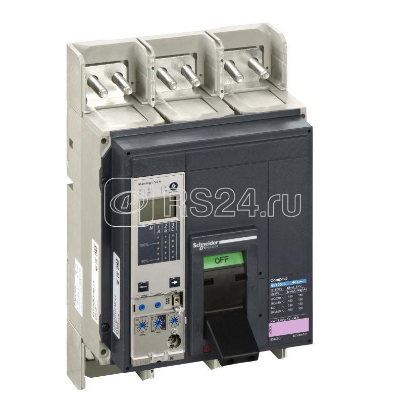 Выключатель 3п I NS1000 Micrologic 5.0А в сборе SchE 33518 купить в интернет-магазине RS24