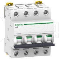 Выключатель автоматический модульный 4п B 6А iC60H SchE A9F88406 купить в интернет-магазине RS24