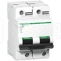 Выключатель автоматический модульный 2п D 100А C120N SchE A9N18384 купить в интернет-магазине RS24