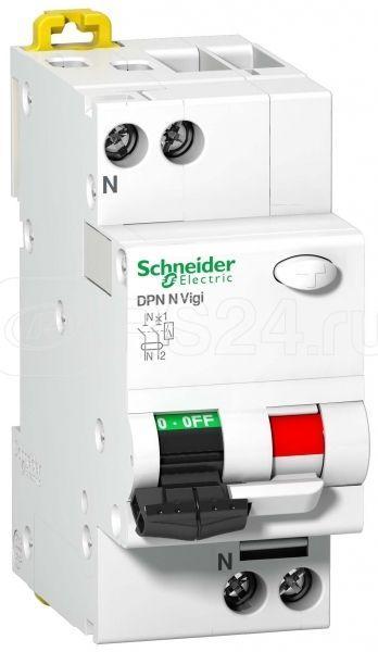 Выключатель автоматический дифференциального тока 2п C 40А 30мА тип AC 6кА DPN VIGI SchE A9N19669 купить в интернет-магазине RS24