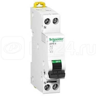 Выключатель автоматический модульный 2п (1P+N) C 2А 6кА iDPN Acti9 SchE A9N21553 купить в интернет-магазине RS24