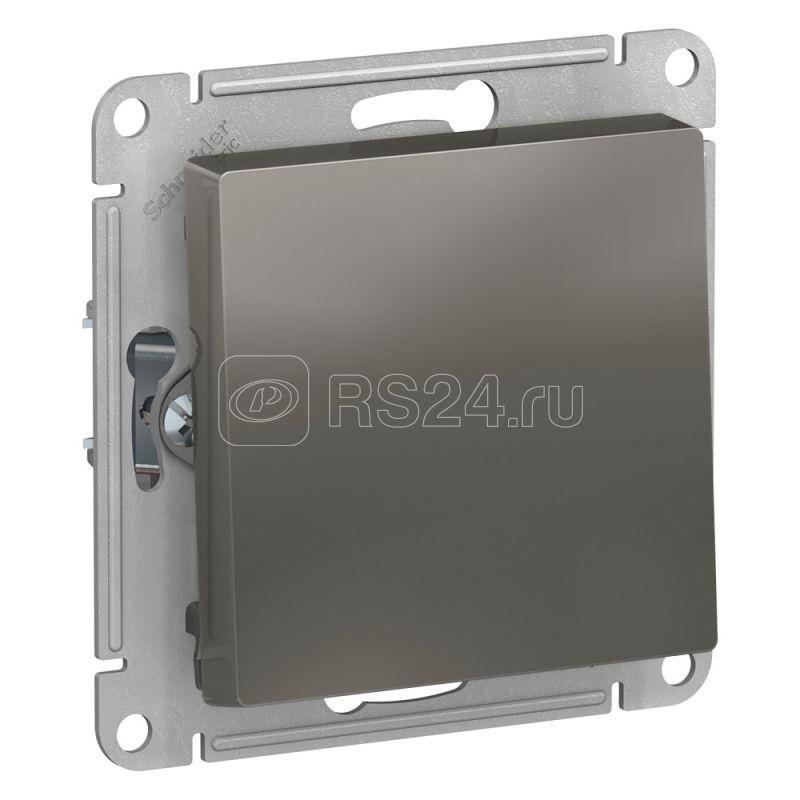 Механизм выключателя 1-кл. СП AtlasDesign 10А IP20 (сх. 1) 10AX сталь SchE ATN000911 купить в интернет-магазине RS24