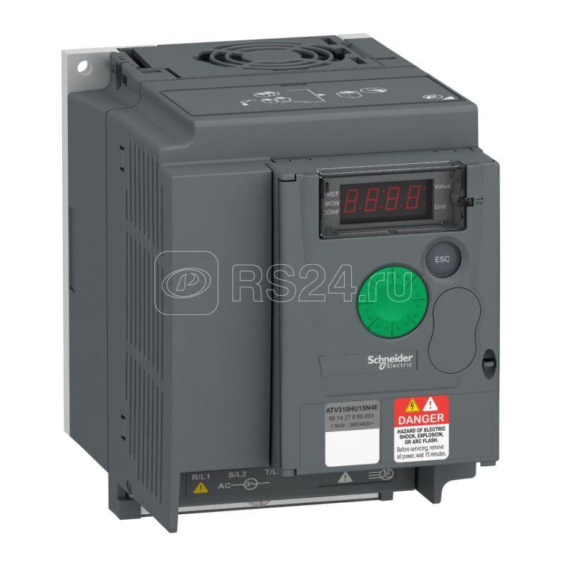 Преобразователь частоты ATV310 1.5кВт 380В 3ф SchE ATV310HU15N4E купить в интернет-магазине RS24