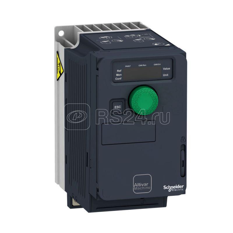 Преобразователь частоты компактное исп. ATV320 0.55кВт 240В 3ф SchE ATV320U06M3C купить в интернет-магазине RS24