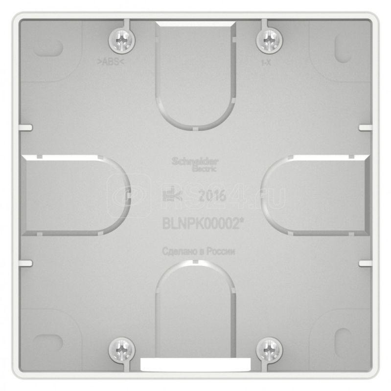 Коробка подъемная СП BLANCA для силовых розеток бел. SchE BLNPK000021 купить в интернет-магазине RS24