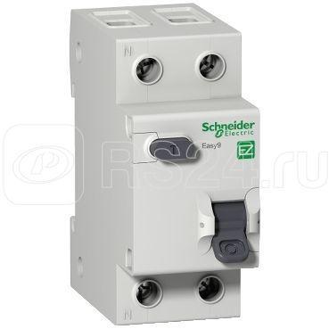 Выключатель автоматический дифференциального тока 2п (1P+N) C 20А 30мА тип AC 4.5кА EASY9 2мод. SchE EZ9D34620
