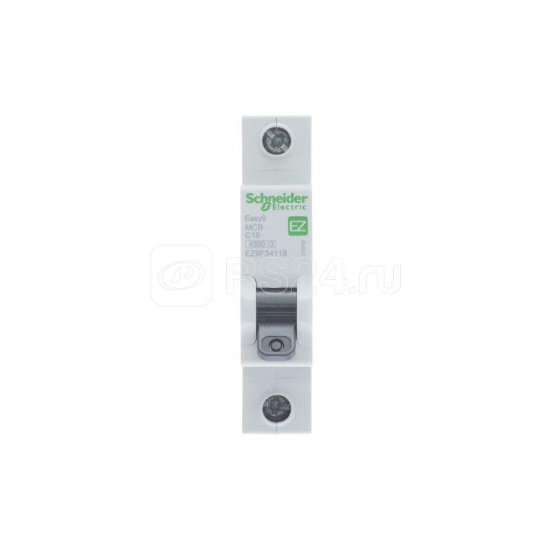 Выключатель автоматический модульный 1п C 16А 4.5кА EASY9 =S= SchE EZ9F34116