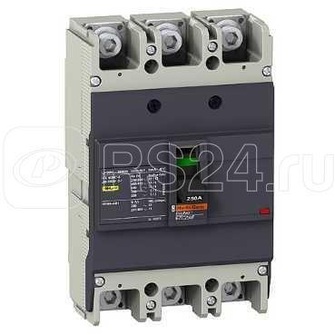Выключатель авт. 3п 3т EZC250F 225А 18кА 400В SchE EZC250F3225 купить в интернет-магазине RS24