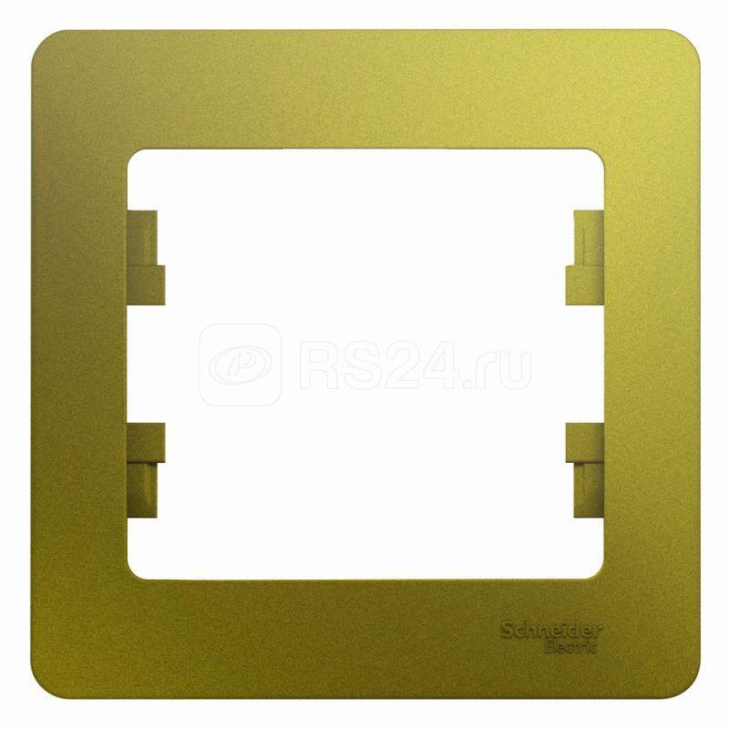 Рамка 1-м Glossa фисташк. SchE GSL001001