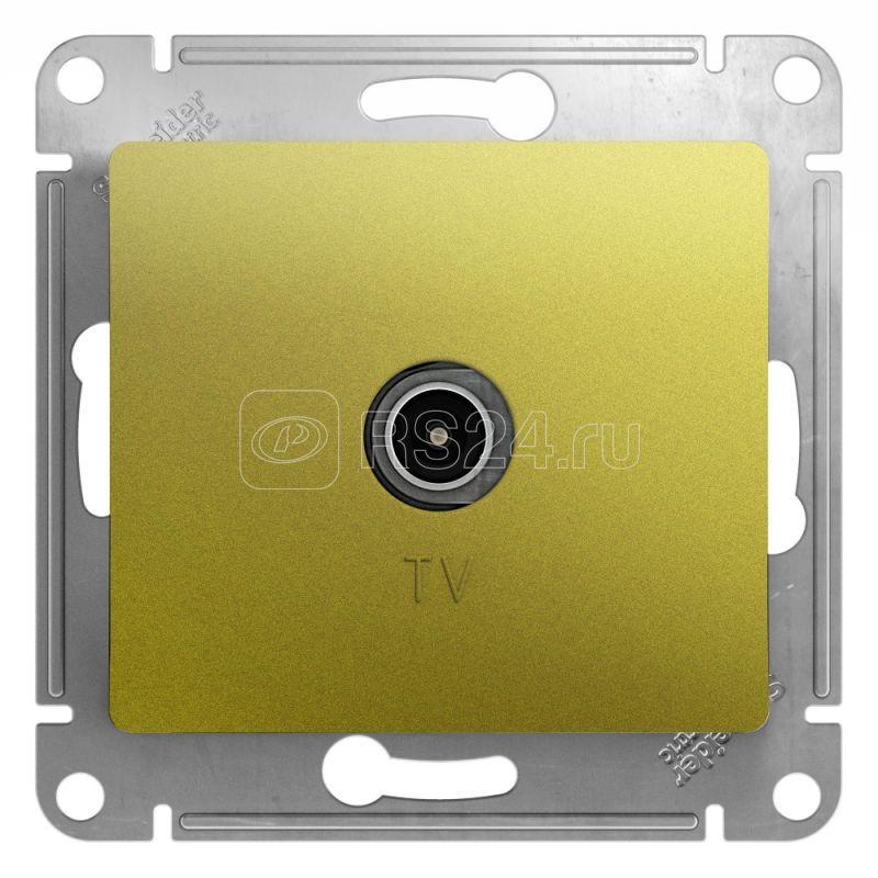 Механизм коннектора TV антены Glossa фисташк. SchE GSL001093 купить в интернет-магазине RS24