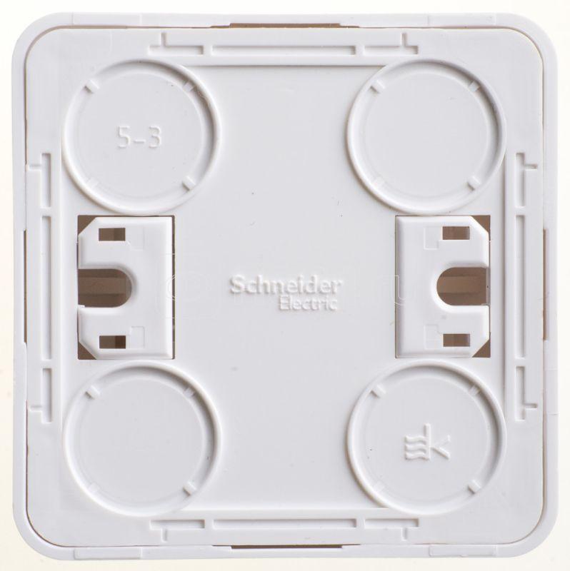 Выключатель кнопочный 1-кл. ОП Этюд 10А бел. SchE KA10-001B