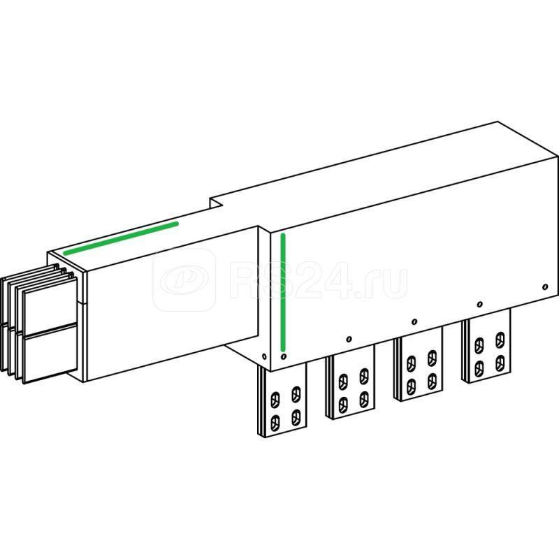 Секция присоединительная к трансформатору SchE KRC1000EL44 купить в интернет-магазине RS24