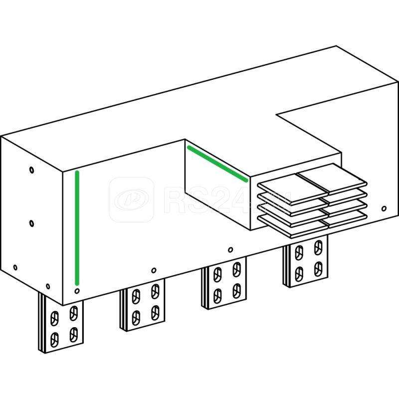 Секция вводная с углом плашмя SchE KRC6300ER36 купить в интернет-магазине RS24