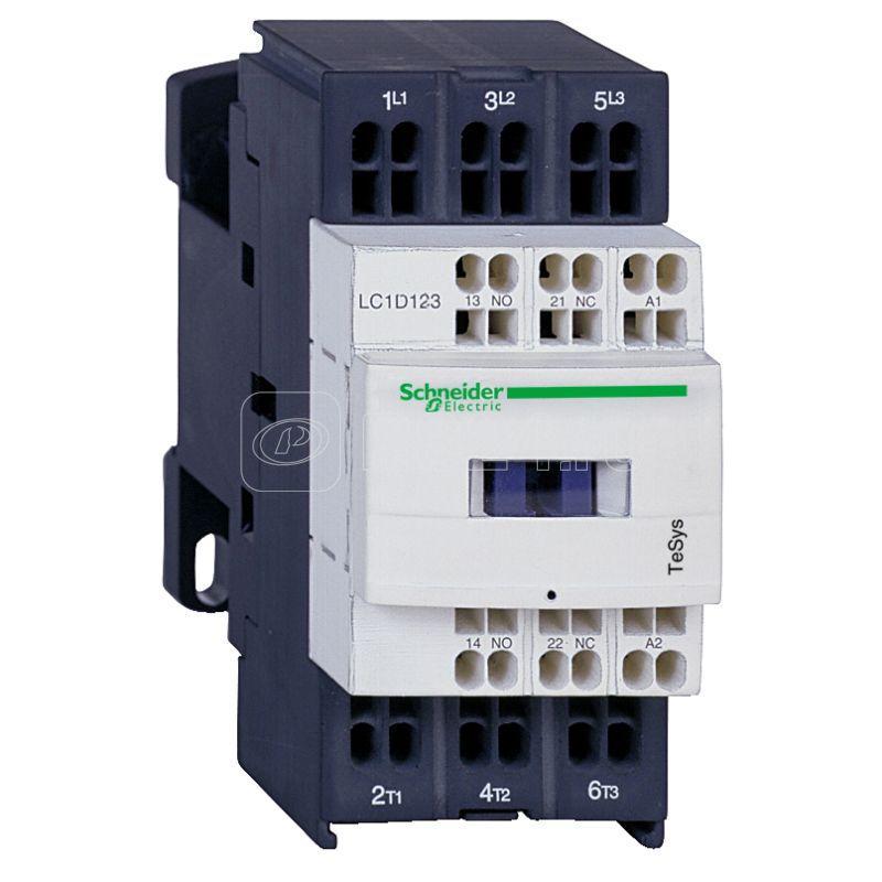 Контактор 3п 32А D НО+НЗ 110В 50/60Гц пружинный зажим SchE LC1D323F7 купить в интернет-магазине RS24