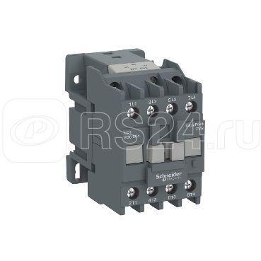 Контактор 4п Е 40А 2НО+2НЗ AC1 24В 50/60Гц SchE LC1E25008B7 купить в интернет-магазине RS24