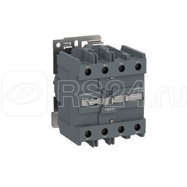 Контактор 4п 100А E 4НО 220В 50/60Гц AC1 SchE LC1E80004M7 купить в интернет-магазине RS24