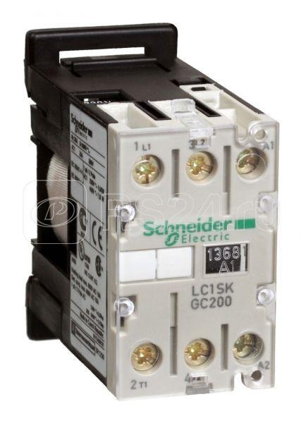 Контактор SKG 2п/6А AC3 48В 50Гц SchE LC1SKGC200E7 купить в интернет-магазине RS24