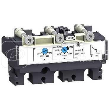 Расцепитель для NSX100-250 3П3T TM25D SchE LV429036 купить в интернет-магазине RS24