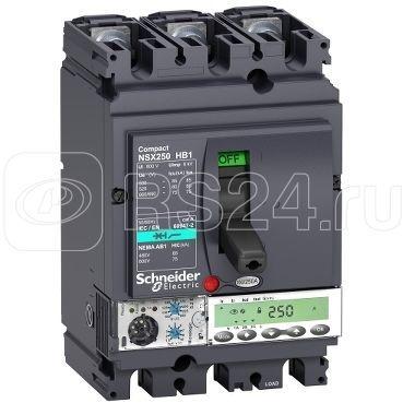 Выключатель авт. 3п MIC5.2E 250А NSX250HB1 (75кА при 690В) SchE LV433552 купить в интернет-магазине RS24