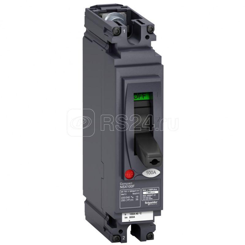 Выключатель авт. 1п NSX100F 80А AC/DC SchE LV438569 купить в интернет-магазине RS24