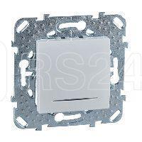 Механизм переключателя перекрестного 1-кл. СП Unica 10А IP20 (сх. 7а) с подсветкой бел. SchE MGU5.205.18NZD купить в интернет-магазине RS24