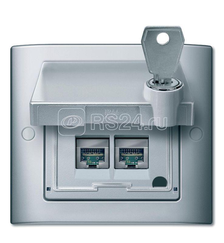 Рамка 1-м Merten IP44 алюм. SchE MTN400160 купить в интернет-магазине RS24