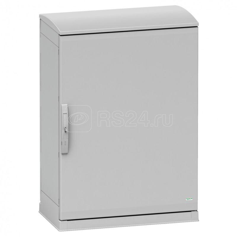 Шкаф Thalassa PHD 1250х1250х620мм ral7035 IP55IK10 крыша+цок+замок 1242E SchE NSYPHDZT12126P купить в интернет-магазине RS24
