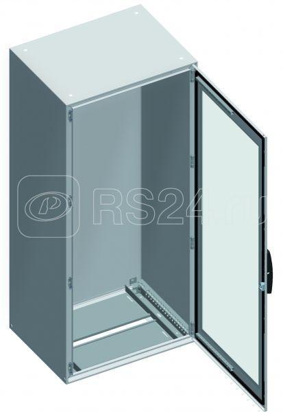 Шкаф Sm прозр. дверь без монтаж. платы 1800х800х500 SchE NSYSM18850T купить в интернет-магазине RS24