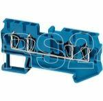 Клеммник пружинный проходной 2.5кв.мм 4 точки подкл. син. SchE NSYTRR24BL купить в интернет-магазине RS24