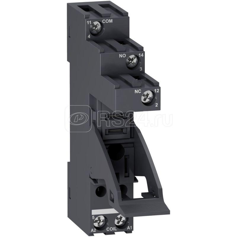 Колодка для реле разд. контакты 1СО SchE RGZE1S35M купить в интернет-магазине RS24