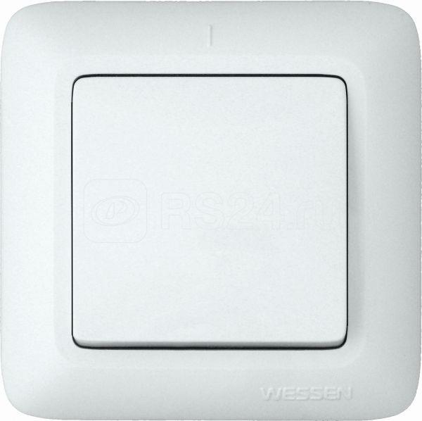 Выключатель 1-кл. СП Прима 6А IP20 бел. (розн. упак) SchE S16-057-BI